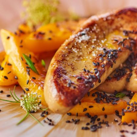 Foie gras de canard frais 550 à 650 g halal