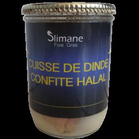 Confit de dinde halal une cuisse - 600 g