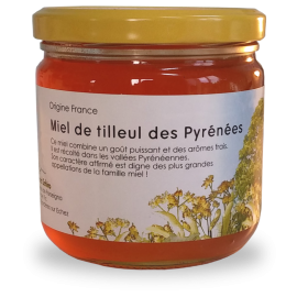 Miel de Tilleul des Pyrénées 250 g