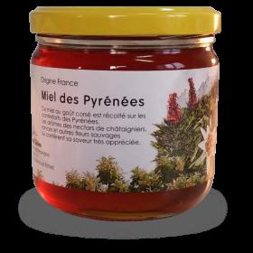 Miel des Pyrénées 250g chataignier