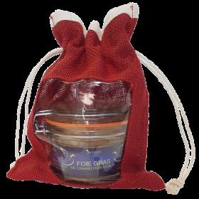 Coffret cadeau - foie gras de canard entier 130 g - 100% halal -