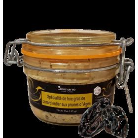 Spécialité de foie gras de canard aux prunes d'Agen hala - 130g