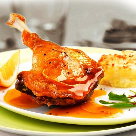 Confit de canard halal 1 cuisse 300g